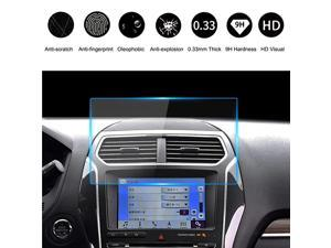9H Ford Tempered Glass Screen Protector 8 Inch  Car Navigation Clear Touch Display Film Protector 20132019 F150 F250 F350 F450 Sync2 Sync3 Escape Expedition Everest EcoSport Fusion Focus RS