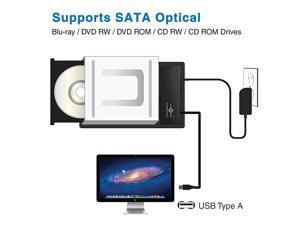 CBST00U3 NexStar USB 30 to SATA 6Gbps OpticalStorage Adapter Black