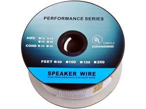 Feet 14AWG CL2 Rated 2Conductor Loud Speaker Cable for inWall Installation