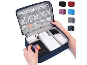 Electronic Organizer Travel Universal Cable Organizer Electronics Accessories Cases for Cable Charger Phone USB SD Card