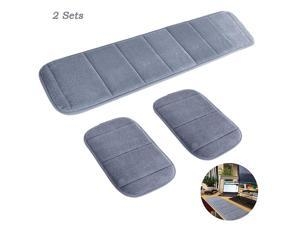 2 Sets Ergonomic Computer Elbow Wrist Pad  Long amp Short Size Combination Keyboard Wrist Rest Elbow Support Mat for Office Desktop Working Gaming Memory Foam Relieve Elbow Pain Gray