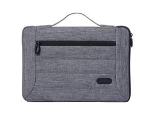 12129 Inch Laptop Sleeve Case Cover Bag for MacBook Surface Pro 7 Pro 6 Surface Pro 2017 Pro 4 3 Apple iPad Pro Most 11quot 12quot Laptop Ultrabook Notebook MacBook Chromebook Grey