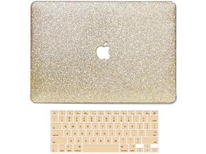 MacBook 12 Inch Case 2017 2016 2015 Release A1534 2 in 1 Bling Crystal Smooth UltraSlim Light Weight PC Hard Case with Keyboard Cover Compatible with Apple MacBook 12 Inch with Retina Display