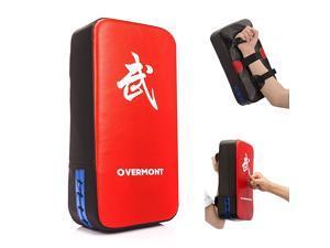 Taekwondo Kick Pad Boxing Karate Pad PU Leather Muay Thai MMA Martial Art Kickboxing Punching Bag Kicking Shield Training 1PC