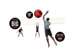 Big Sports VolleyballSupersized Volleyball Outdoor Sport Tailgate Backyard Beach Game Fun for All Model95701