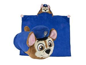 Critters Stuffed Animal Blanket PAW Patrol Chase Kids Huggable Pillow and Blanket Perfect for Pretend Play Travel nap time