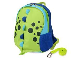 Upgraded Kids Insulated Toddler Backpack with Safety Harness Leash and Name Label Playful Preschool Kids Lunch Bag Dinosaur