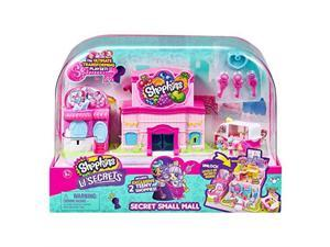 Lil Secrets Secret Small Mall Multi Level Playset with Grocery Store Fashion Boutique Ice Cream Truck