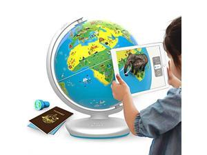 Orboot App Based Augmented Reality Interactive Globe for Kids Stem Toy for Boys Girls Age 4 to 10 Years   Educational Toy Gift No Borders No Names On Globe