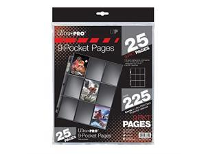 Silver Series 9Pocket Pages 25 Count Pack
