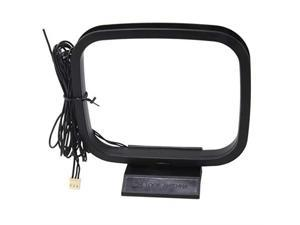 FM and AM Loop Antenna with 3Pin Mini Connector for Sony Sharp Stereo AV Receiver Systems