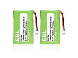 2 Pack 6535801 Repalcement Battery for Plantronics CS50 CS55 CS50USB CS60 6432701 6439901 HL10 PL6439901 CBP50 Replacement Battery Wireless Headset