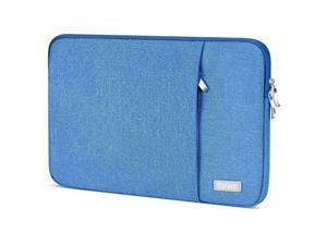 Laptop Sleeve 156 Inch  Waterrepellent Protective Fabric Notebook Bag Case Compatible F555LA MB168B X551 Aspire 156 Chromebook 15 Inspiron 156 Pavilion 156Computer Carrying Case Blue