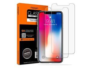 Tempered Glass Screen Protector Compatible with iPhone Xs 2018 iPhone X 2017 2 Pack Screen Protection