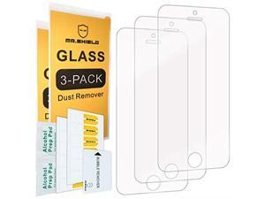3Pack for iPhone SEiPhone 55S iPhone 5C Tempered Glass Screen Protector with Lifetime Replacement