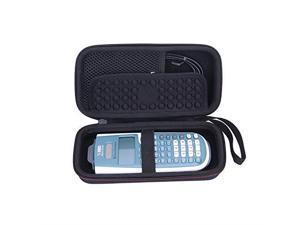 EVA Hard Carrying Case for Texas Instruments TI30XS TI36X Pro Engineering Multiview Scientific Calculator Black