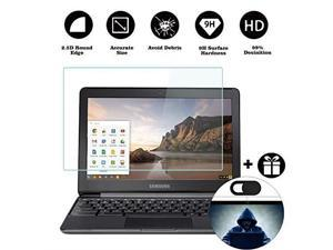 Tempered Glass Screen Protector Fit Samsung Chromebook   Samsung Chromebook 2 9H Hardness with Anti Fingerprint Coating