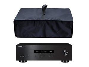 Black Antistatic Waterproof Dustproof Nylon Fabric Printer Cover Case Protector for Yamaha RS202BL RN301BL RXV681BL Stereo Receiver Sony STRDH540 STRDH100 Stereo Receiver