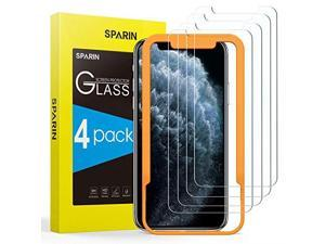 Screen Protector for iPhone 11 Pro MaxiPhone Xs Max 4 Pack 9H Hardness Tempered Glass for iPhone 11 Pro MaxiPhone Xs Max 65 inch Alignment Frame Bubble Free High Responsive