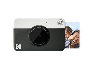 PRINTOMATIC Digital Instant Print Camera Black Full Color Prints On ZINK 2x3 StickyBacked Photo Paper Print Memories Instantly