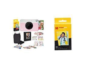 PRINTOMATIC Digital Instant Print Camera Pink 2x3 Premium Zink Photo Paper 50 Sheets