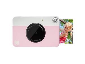 PRINTOMATIC Digital Instant Print Camera Pink Full Color Prints On ZINK 2x3 StickyBacked Photo Paper Print Memories Instantly