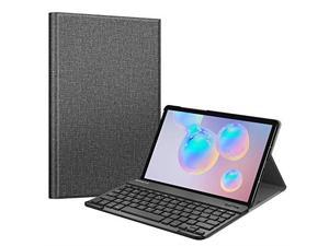 Keyboard Case for Samsung Galaxy Tab S6 105 2019 Model SMT860T865T867 Supports S Pen Wireless Charging Slim Cover wDetachable Wireless Bluetooth Keyboard Gray