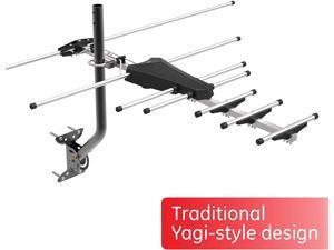 Pro Outdoor Yagi TV Antenna HDTV Antenna Long Ran Antenna Compact Design Digital Yagi Antenna Directional Antenna 4K 1080P VHF UHF 33685