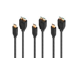 Accessory USA USB 2.0 Data PC Cable Cord for Transcend TS0GSJ25P TS0GSJ25S-S TS500GSJ25C External Hard Drive HDD