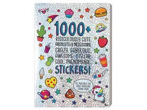 1000+ Ridiculously Cute Stickers 40 page Sticker Book