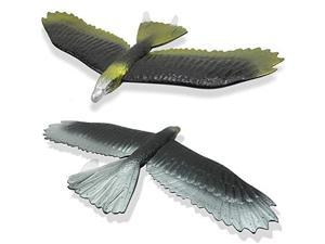 Eagle Airplane Glider EPP Hand Throwing Foam Plane Kit22 inches Wingspan 2 Pack Flying Aircraft Toy Model