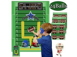 Football Games for Kids Pin The Football Game Football Party Supplies Football Party Games Activities Halloween Party Games Football Theme Party Decorations Pin The Football on The Goalpost