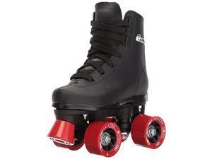 Boys Classic Roller Skates Black Rink Quad Skates Size Youth 2