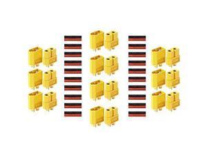 10 Pairs XT60 Connectors Male Female Bullet Connectors Plugs for RC Lipo Battery