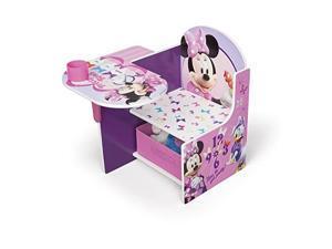 Chair Desk with Storage Bin Disney Minnie Mouse