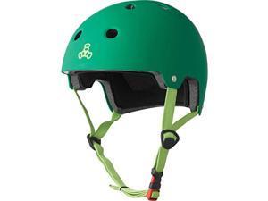 Dual Certified Bike and Skateboard Helmet Kelly Green Matte Large XLarge