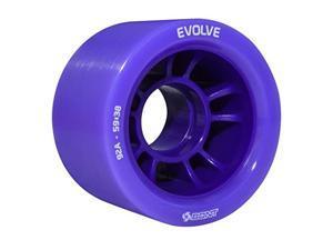 Skates | Evolve Roller Derby Skate Wheel | Indoor Quad Speed Skating | Set of 4