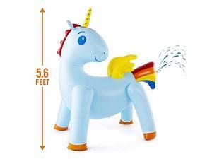 Unicorn Yard Water Sprinkler Large Inflatable Toy 44 x 60 x 67 Inches
