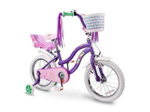 Kids Bike Steel Frame Children Bicycle Little Princess Style 12141618 Inch with Training Wheel