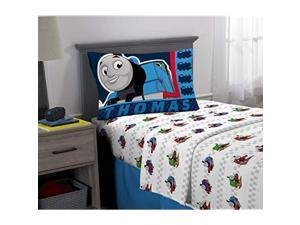 Kids Bedding Super Soft Microfiber Sheet Set 3 Piece Twin Size Thomas and Friends