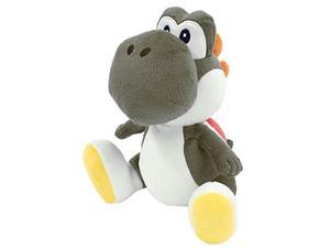 1392 Super Mario Bros All Star Collection 7 Black Yoshi Plush