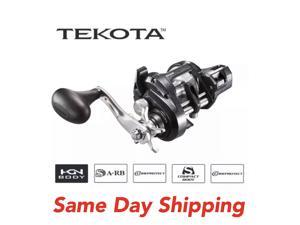 Shimano Tekota 500HGLC Line Counter Fishing Reel 6.3:1 500HGLCA Item TEK500HGLCA Same Day Shipping
