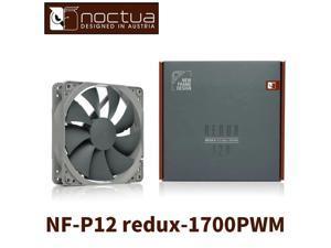 Noctua NF-P12 redux-1700 4PIN PWM  120mm 12cm  CPU or radiator cooling fans  Computer Case  CPU heat sink Cooler  low noise Fan