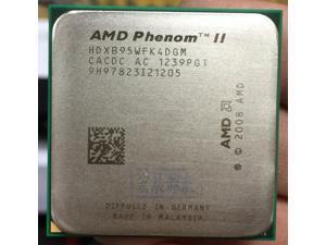 AMD Phenom II X4 B95 - HDXB95WFK4DGM  AMD B95 PC CPU  Quad-Core AM3 938 CPU 100% working properly Desktop Processor