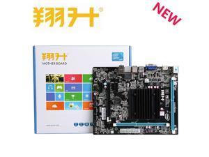 ASL J1900M-HK PC computer Motherboard DDR3  Onboard Intel processor J1900 CPU Quad core 2.0G TDB 10W