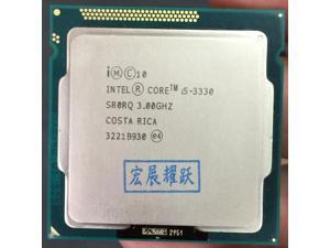 Intel Core i5 3330  i5-3330   Processor (6M Cache, 3.0GHz) LGA1155 CPU 100% working properly PC Computer Desktop CPU