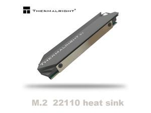 Thermalright Heatsink Heat Aluminum M.2 Cooling Cooler Heat Sink Heat Thermal Pads for NGFF NVME PCIE 22110 SSD Hard Drive Disk