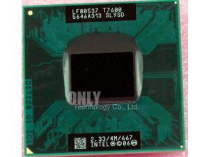 intel CPU laptop Core 2 Duo T7600 CPU 4M Socket 479 Cache/2.33GHz/667 Dual-Core Laptop processor support 945