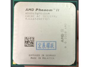 AMD Phenom II X4 945 - HDX945WFK4DGM C3  AMD 945 X4-945 95W 95W  Quad-Core AM3 938 CPU 100% working properly Desktop Processor