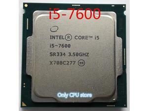 intel Core i5-7600 3.50GHz Quad-Core 6MB SmartCache up to 4.10GHz HD Graphics 630 i5 7600 DDR4-2400 DDR3L 1600 FCLGA1151
